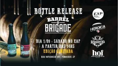 2018-08-29- Barrel Brigade - Cerveja em barril de Gin